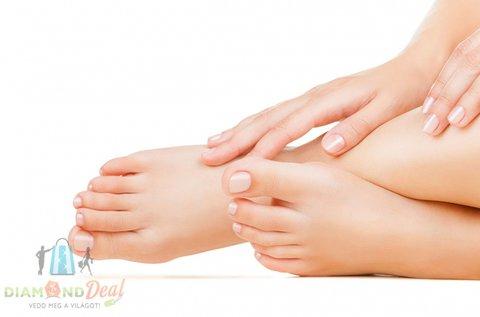 Ápolt lábak gyógypedikűrrel, talpmasszázzsal