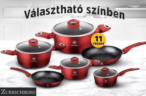 Zurrichberg Deluxe Metalic Line edénykészlet