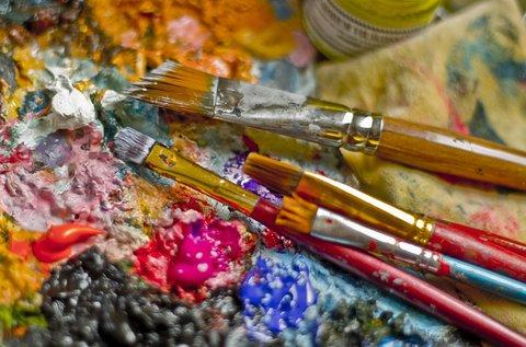 Kreatív festő workshop 1 db akrilkép készítésével