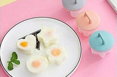 4 db tojásfőző forma a vidám reggeliért