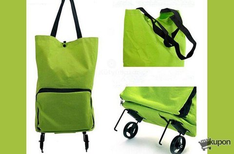 Praktikus válltáska és gurulós táska egyben