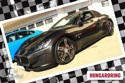 Szágulj a Hungaroringen Maserati GranTurismóval!