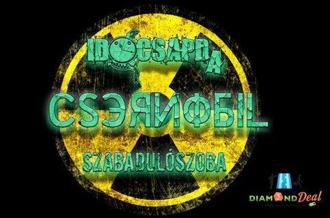 Csernobil Csapdája szabadulószoba 2-6 főnek