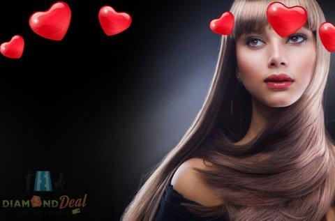 Ragyogó haj Lisse Design Keratin Therapy kezeléssel