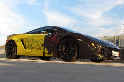 Vezess közúton egy Lamborghini Gallardót!