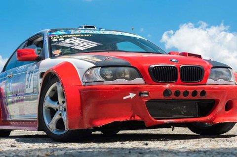 15 perc száguldás egy BMW E46 Schnitzer Drift-tel