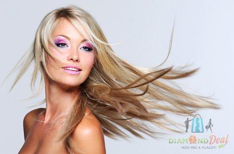 Női hajvágás bármely hosszra, hajegyenesítéssel