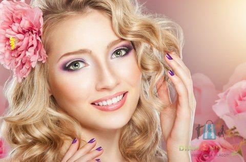 13 lépcsős luxus arckezelés géllakkozással