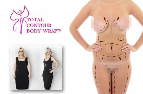 3 alkalmas Total Contour Wrap fogyasztó testkezelés
