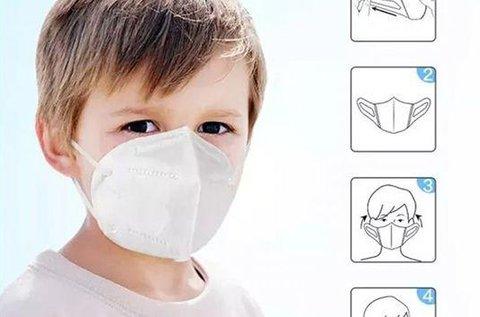 FFP2 légzésvédő maszk csomag gyerekeknek