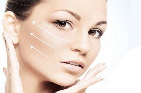 Feszes arckontúrok Face Lifting kezeléssel