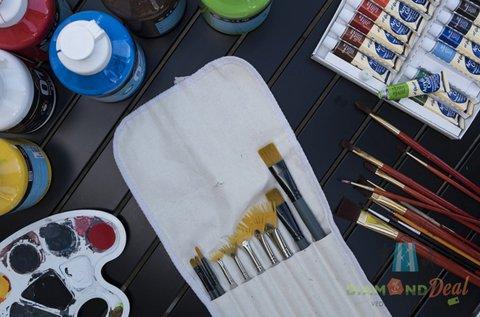 3 órás festő workshop 1 akrilkép elkészítésével