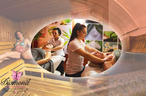 60 perces páros masszázs frissítő wellnesszel