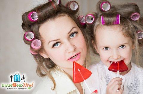 Különleges anyák napi fotózás szabadtéren