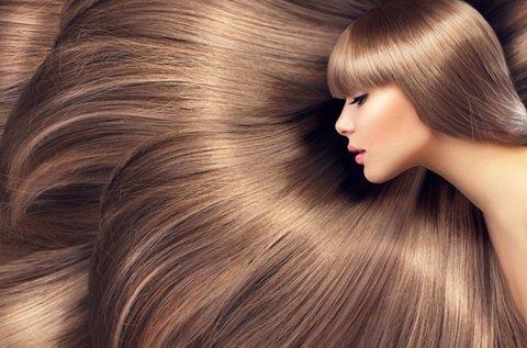 Egészséges, fényes haj keratinos hajsimítással