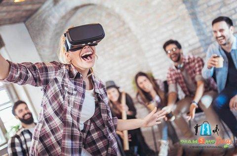 4D hatású Hyperreality VR élménycsomag 1 főnek