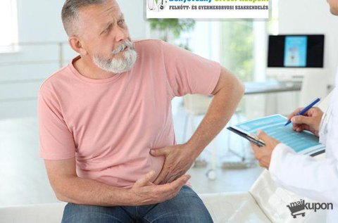 Szakorvosi urológiai kivizsgálás ultrahanggal