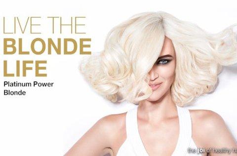 Ragyogó szőkeség Joico Blonde Life 9+ melírral