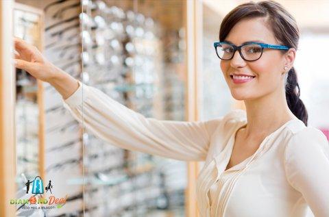 Stílusos szemüveg vékonyított lencsével