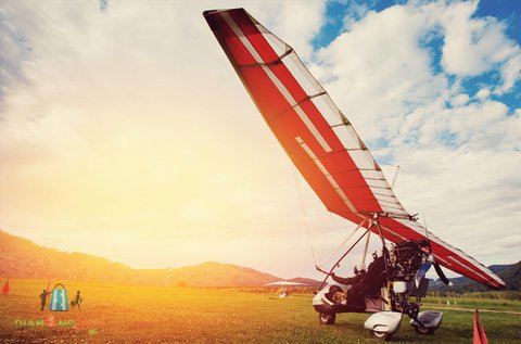 20 perc élményrepülés motoros sárkányrepülővel