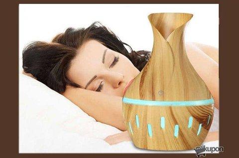 Letisztult stílusú aromaterápiás párásító