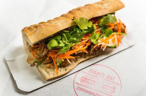 Banh Mi szendvics 2 főnek bubble teával