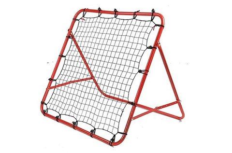 Focikapu feszített visszapattintó hálóval