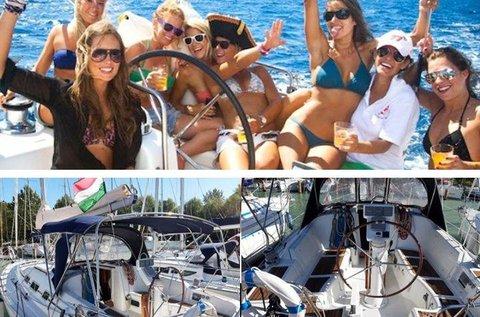 Hétvégi luxusvitorlázás akár 10 főnek a Balatonon