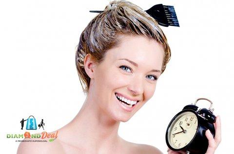 Női haj festése, vágása bármely hosszra