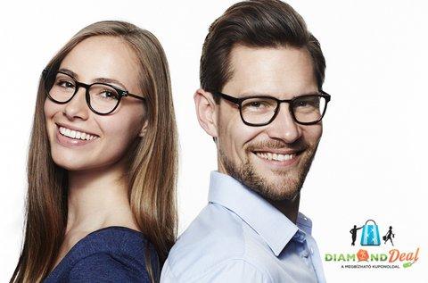 Multifokális szemüveg vékonyított lencsével