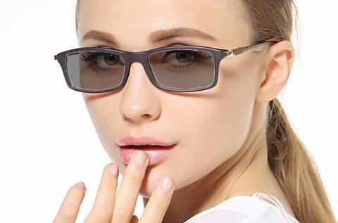Fényre sötétedő szemüveg teljes UV védelemmel