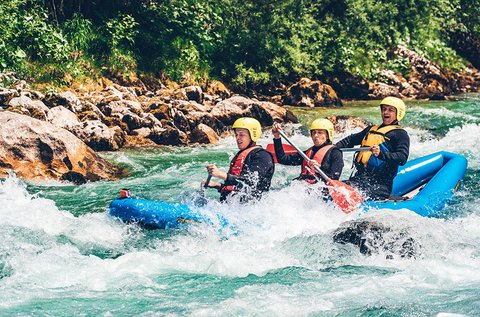 2 napos Salza VIP rafting túra Ausztriában