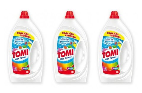 Tomi folyékony mosószer 3x5 l-es kiszerelésben