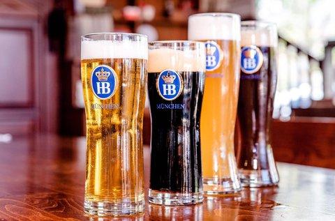 Sörkóstoló Hévízen 4 féle bajor sörrel, ízelítő tállal