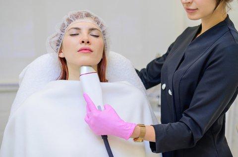 Fiatal arcbőr rádiófrekvenciás kezeléssel