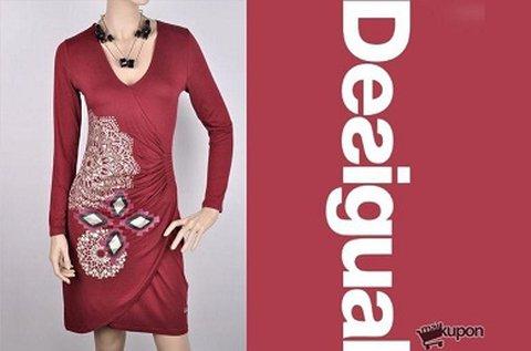 Csinos, elasztikus Desigual ruha előnyös fazonnal