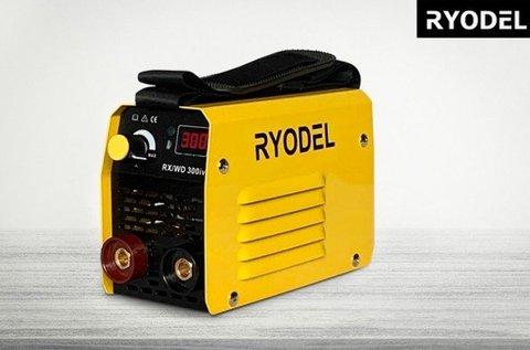 Ryodel 300 A-es inverteres hegesztő LCD kijelzővel