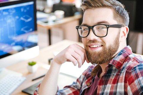Nulla dioptriás monitorszűrős szemüveg