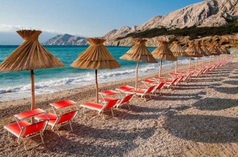 1 napos fürdőzés a mesés Krk-sziget tengerpartján