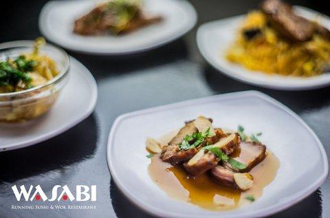 Korlátlan ételfogyasztás a Wasabi éttermeiben