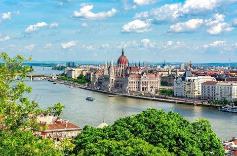 Felhőtlen napok Budapest belvárosában