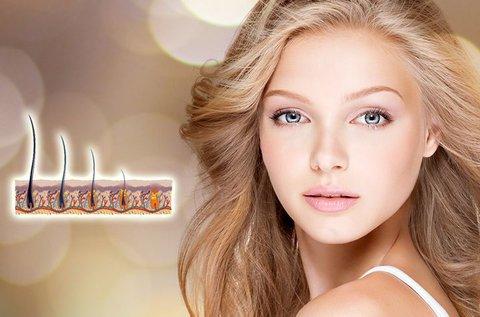 Hajhullást csökkentő mezoterápiás fejbőrkezelés