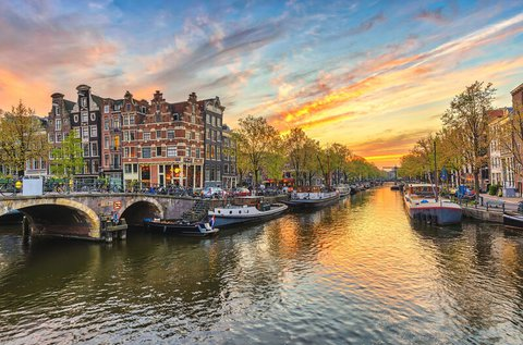 Családi városlátogatás Amszterdamban