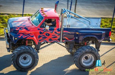 3 körös Monster Truck BigFoot élményvezetés