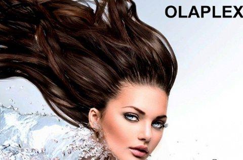 Csillogó hajkorona Olaplex hajújraépítő kezeléssel