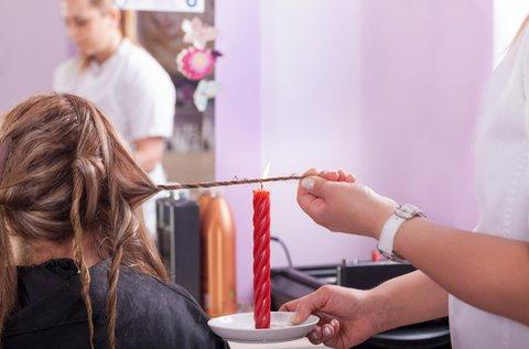 Egészséges, hosszú haj Velaterápiával