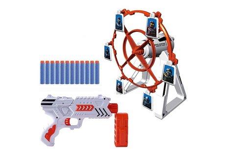 Forgó célbalövő játék 1 db pisztollyal