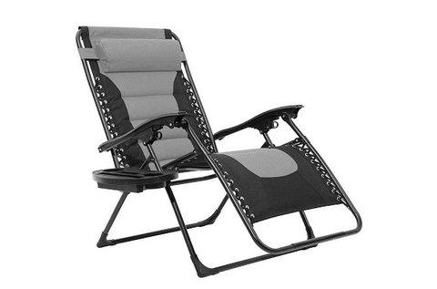 Delux zéró gravitációs szék levehető fejpárnával