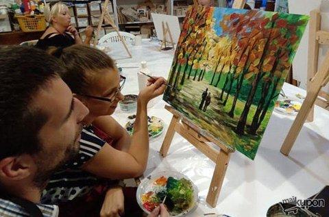 Páros festés közös alkotás készítéssel