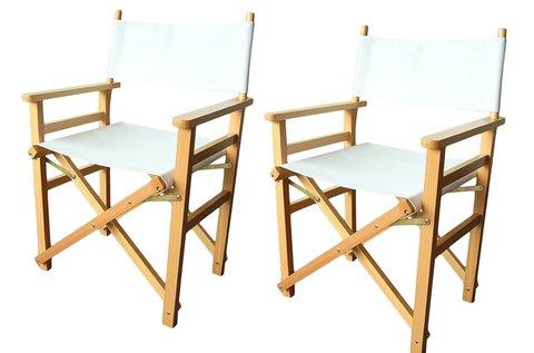2 db összecsukható rendezői szék